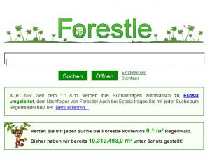 Die grüne Suchmaschine